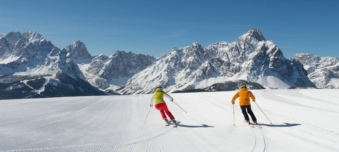 The ski area Three Peaks – Dolomites will fulfil all your wishes